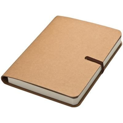 Picture of NOTE BOOK with Brown Elastic Rubber Band