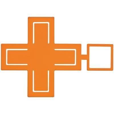 Picture of CROSS MOBILE PHONE HOLDER in Orange