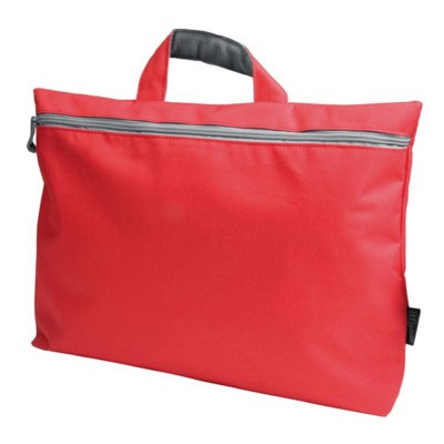 Picture of NYLON DOCUMENT BAG in Red