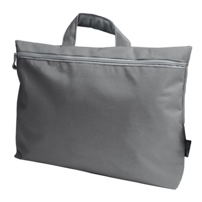 Picture of NYLON DOCUMENT BAG in Grey