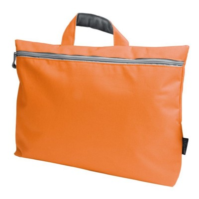 Picture of NYLON DOCUMENT BAG in Orange