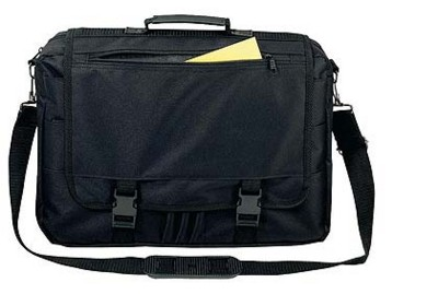 Picture of POLYESTER LAPTOP BAG in Black