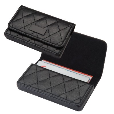 Picture of CRISMA BUSINESS CARD HOLDER in Black