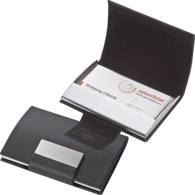 Picture of BUSINESS CARD HOLDER in Black