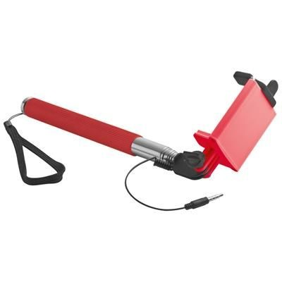 Picture of SELFIE STICK with Telescopic Pole in Red