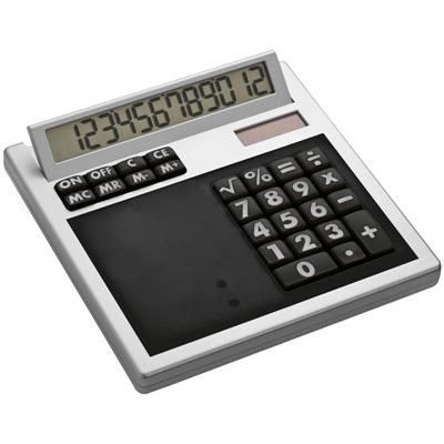 Picture of CRISMA OWN DESIGN CALCULATOR with Insert in Black