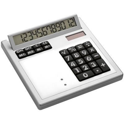 Picture of CRISMA OWN DESIGN CALCULATOR with Insert in White