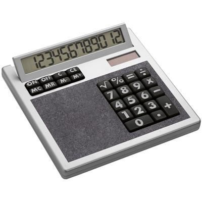Picture of CRISMA OWN DESIGN CALCULATOR with Insert in Anthracite Grey