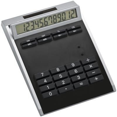 Picture of CRISMA SMALL OWN DESIGN CALCULATOR with Insert in Black