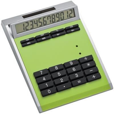 Picture of CRISMA DESIGN CALCULATOR in Apple Green