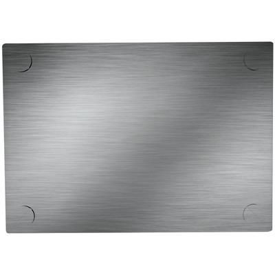 Picture of CLICK PLATE INSERT FOR CALCULATOR in Silver Stainless Steel Metal