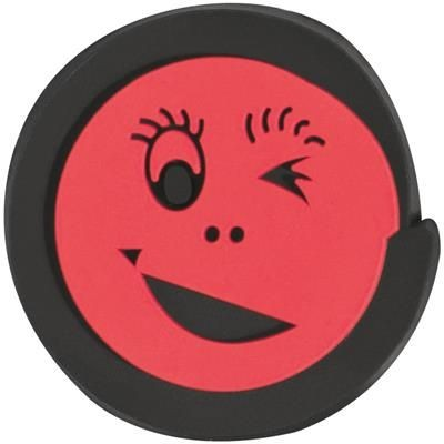 Picture of CLICK SMILEY INSERT FOR CALCULATOR in Red