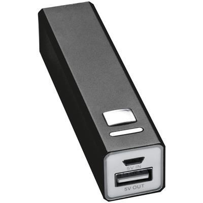 Picture of METAL POWER BANK in Black