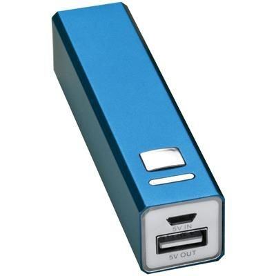 Picture of METAL POWER BANK in Blue