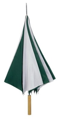 Picture of VALUE UMBRELLA in Green & White