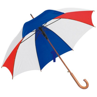 Picture of AUTOMATIC UMBRELLA in Navy Blue & Red