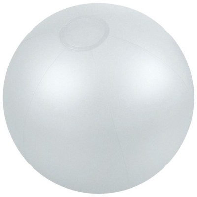 Picture of INFLATABLE BEACH BALL in Translucent Clear Transparent