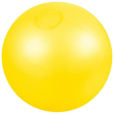 Picture of INFLATABLE BEACH BALL in Translucent Yellow