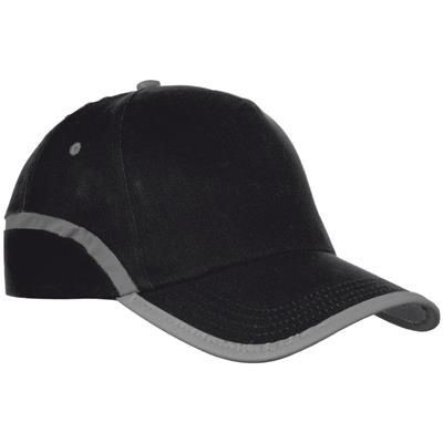 Picture of 5-PANEL BASEBALL CAP in Black