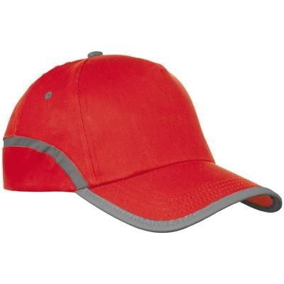 Picture of 5-PANEL BASEBALL CAP in Red