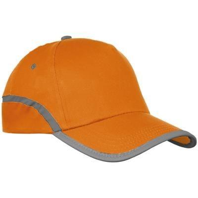 Picture of 5-PANEL BASEBALL CAP in Orange