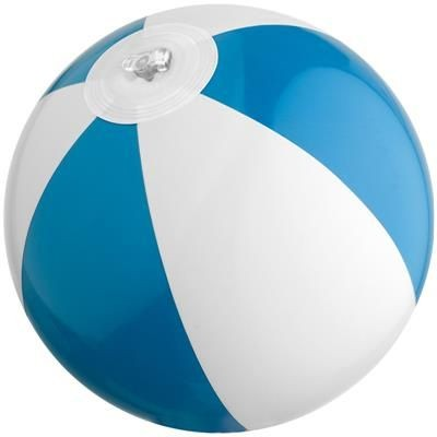 Picture of MINI BEACH BALL in White & Blue