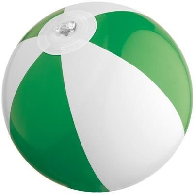 Picture of MINI BEACH BALL in White & Green