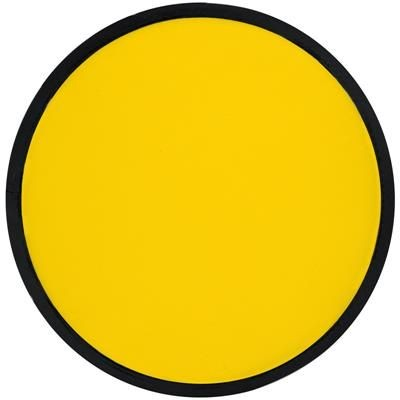Picture of FOLDING FRISBEE with Polyester Case in Yellow