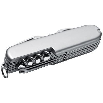 Picture of POCKET KNIFE in Silver with 16 Functions