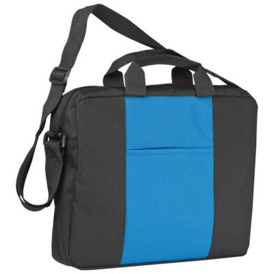 Picture of SHOULDER BAG in Black & Blue