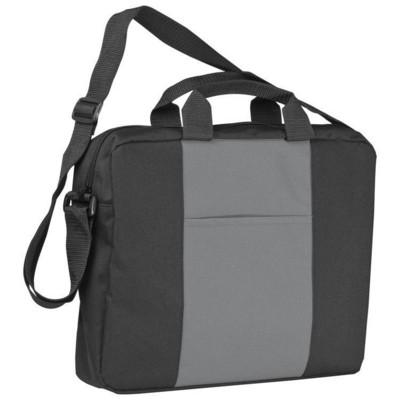 Picture of SHOULDER BAG in Black & Grey