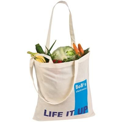 Picture of HANDY SHOPPER TOTE BAG in White