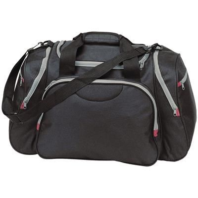 Picture of WEEKENDER TRAVEL SPORTS BAG HOLDALL in Black