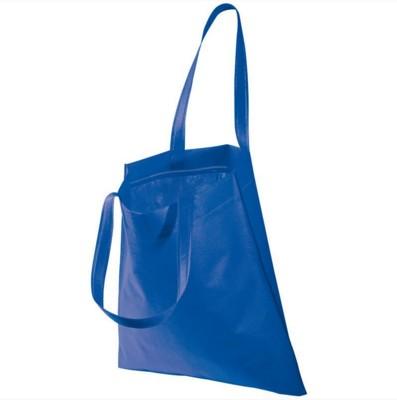 Picture of NON WOVEN SHOPPER TOTE BAG in Blue