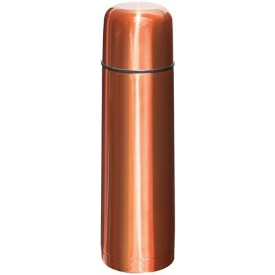 Picture of DOUBLE-WALLED THERMAL INSULATED FLASK in Orange