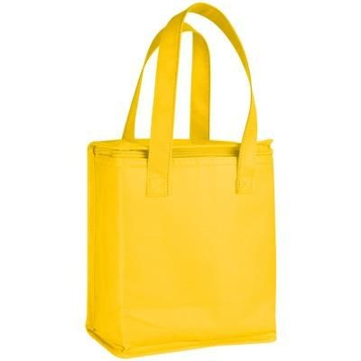 Picture of NON WOVEN COOL BAG in Yellow