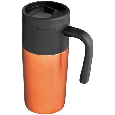 Picture of THERMAL INSULATED TRAVEL MUG in Orange