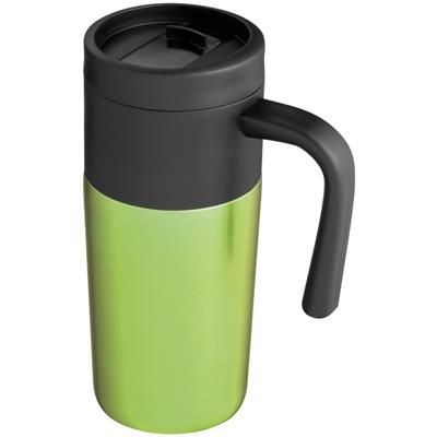 Picture of THERMAL INSULATED TRAVEL MUG in Apple Green