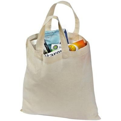 Picture of COTTON BAG with Short Handles
