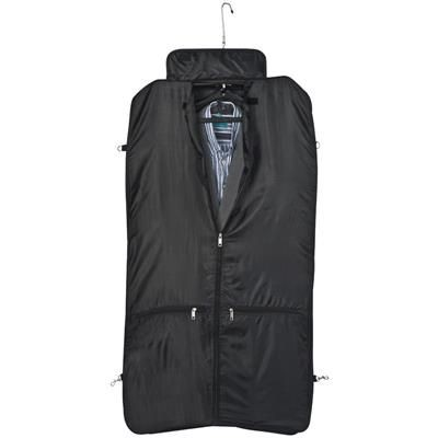 Picture of LARGE STURDY POLYESTER SUIT CARRIER in Black