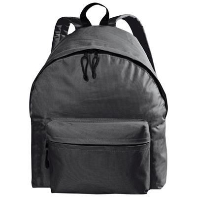Picture of POLYESTER BACKPACK RUCKSACK in Black