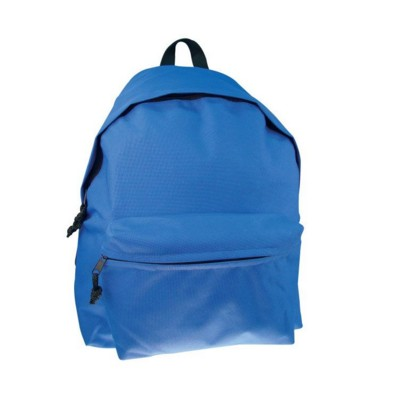 Picture of POLYESTER BACKPACK RUCKSACK in Blue