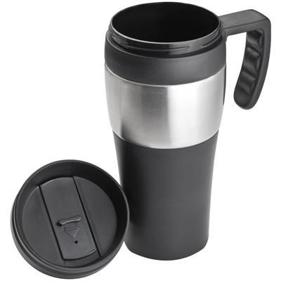 Picture of THERMAL INSULATED TRAVEL MUG in Black