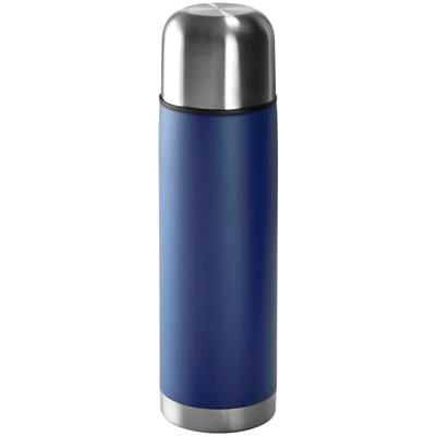 Picture of STAINLESS STEEL METAL THERMAL INSULATED FLASK in Blue