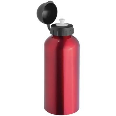 Picture of ALUMINIUM METAL DRINK BOTTLE in Red