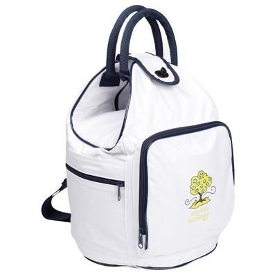 Picture of NYLON DUFFLE COOL BAG in White