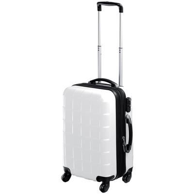 Picture of LOCKABLE HARD SHELL TROLLEY CASE in White