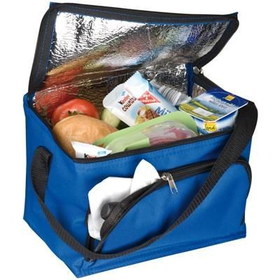 Picture of POLYESTER COOL BAG in Blue