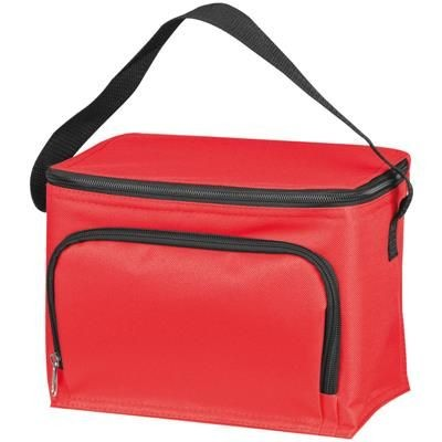 Picture of POLYESTER COOL BAG in Red