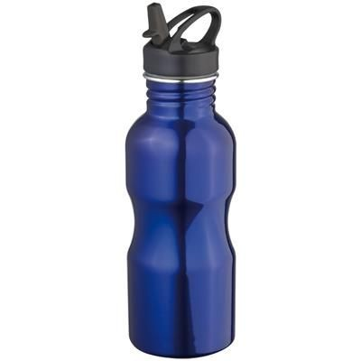 Picture of METAL SPORTS DRINK BOTTLE in Blue
